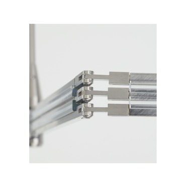 2-Circuit Monorail Flexible Vertical Connector  by Tech Lighting | 700MO2CFXVS