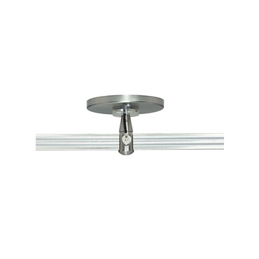2-Circuit Monorail 4 Inch Round Single Feed Canopy by Tech Lighting | 700mo2p4c02s