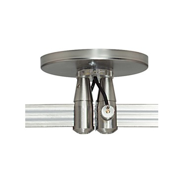 2-Circuit Monorail 4 Inch Round Dual Feed Canopy by Tech Lighting | 700mo2p4c402s