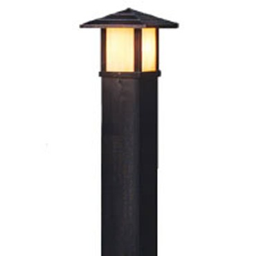 IWBBL3 Square Aluminum Direct Burial Bollard