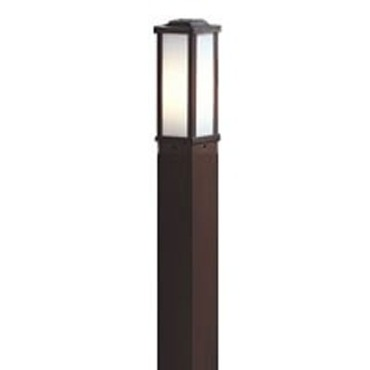 SBBL1 Square Aluminum Direct Burial Bollard