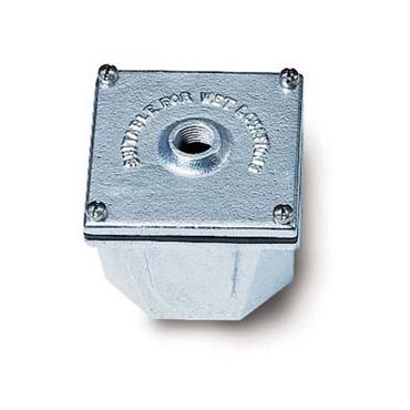 BI2 4 Inch Galvanized Cast Iron Junction Box by Hadco   BI2