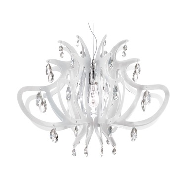 Lillibet Suspension by Slamp | LIL14SOS0000WT