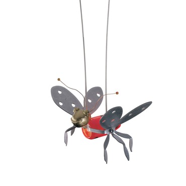 Monorail Lady Bug Functional Art