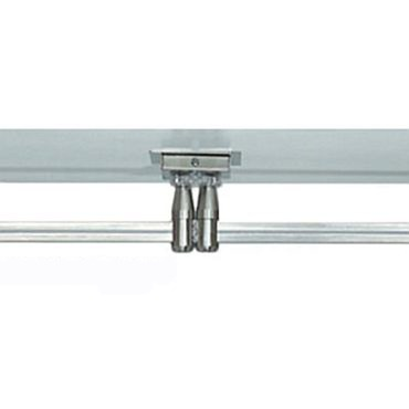 Monorail 2 Inch Square Canopy Dual Feed by Tech Lighting | 700MOP2C402C