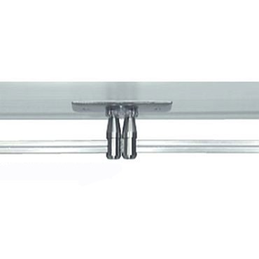 Monorail Rectangular Power Feed Canopy Dual Feed