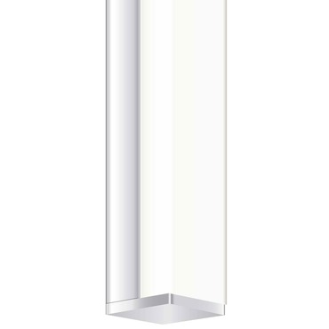 Twiggy T1 Lens 1 Inch Rectangle Canopy Vanity Wall
