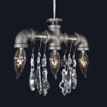 Tribeca Three Bulb Pendant