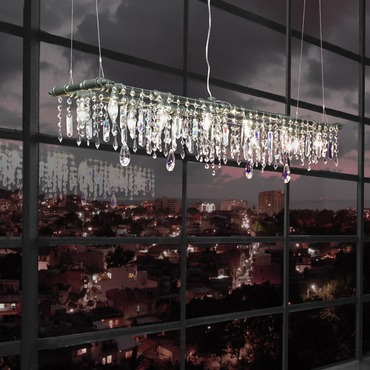 Tribeca Banqueting Chandelier by Michael McHale Designs | TR-5-42