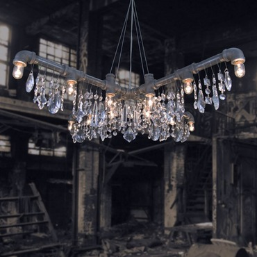 Tribeca X-Chandelier by Michael McHale Designs | TR-7