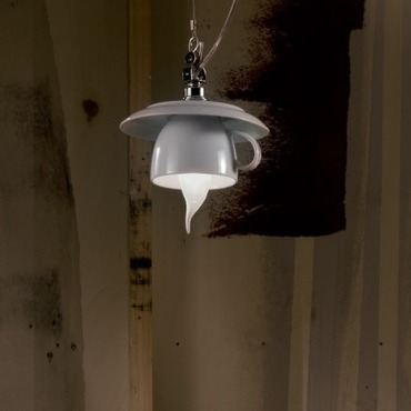 Cappuccino Pendant by Lightology Collection | LC-cappu-15/so-WH