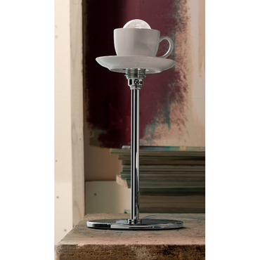 Cappuccino Table Lamp by Lightology Collection | LC-cappu-15/lp-stelo-WH