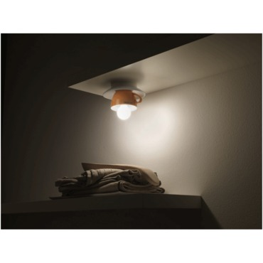 Cappuccino Ceiling Flush by Lightology Collection | LC-cappu-15/pl-OR