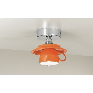 Coffee Ceiling Flush by Lightology Collection | LC-coffee-12/pl-OR