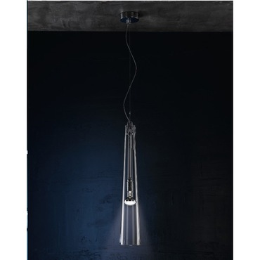 Flute Pendant by Lightology Collection | LC-flute 9/so-CLR