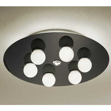 Areacer Ceiling or Wall Lamp by Lightology Collection | LC-areacer-50/pl-BK