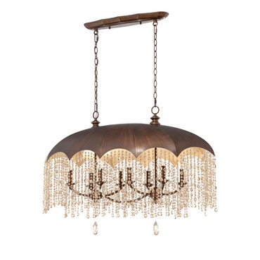 Ombrello 8 Light Pendant