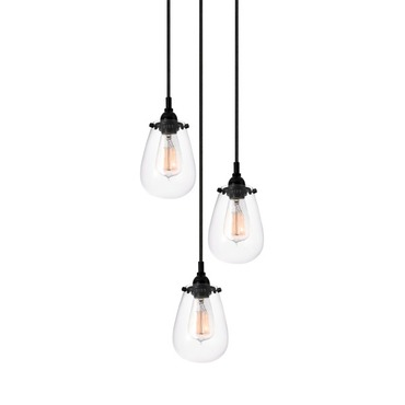 Chelsea Three Light Pendant by SONNEMAN - A Way of Light | 4293.25