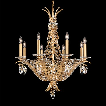 Amytis Multi Light Chandelier by Schonbek | AM5406N-22S
