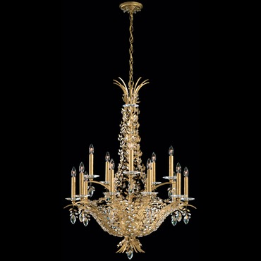Amytis Multi Light Chandelier by Schonbek | AM5415N-22S