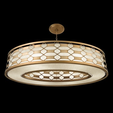 Allegretto Oval Pendant by Fine Art Lamps | 787740-2GU
