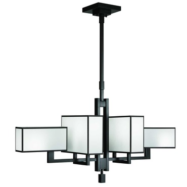 Black and White Story 734040 Chandelier by Fine Art Lamps | 734040-6