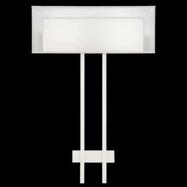 Black and White Story 2-light Wall Sconce