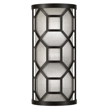 Black and White Story 816850 Wall Sconce by Fine Art Lamps | 816850-6GU