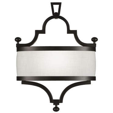 Black and White 440250 Wall Sconce by Fine Art Lamps | 440250-6