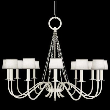 Black and White Story 420840 Chandelier by Fine Art Lamps | 420840-5