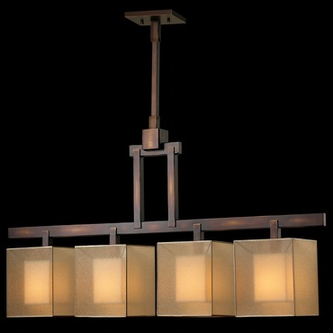 Quadralli Linear Chandelier by Fine Art Lamps | 330540