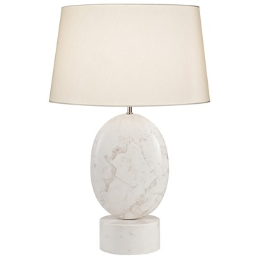 Marble Round Table Lamp