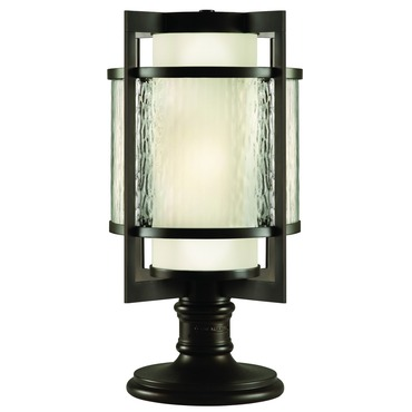 Singapore Moderne Outdoor Post Mount by Fine Art Lamps | 817583ST