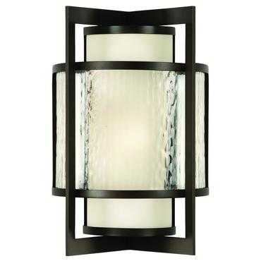 Singapore Moderne Outdoor Wall Light by Fine Art Lamps | 818081ST