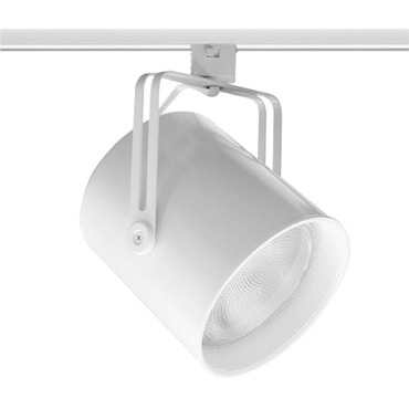 T427 Mini PAR38 Flat Back Trac Master Lamp Holder by Juno Lighting | T427W-WH