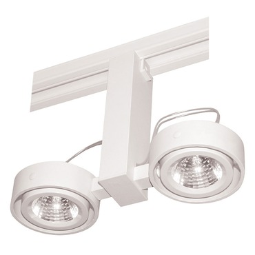 T812 Trac-Master Duo Open Back MR16 Lamp Holder by Juno Lighting | T812WH