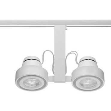 T817 Trac-Master Duo Enclosed MR16 Lamp Holder by Juno Lighting | T817WH