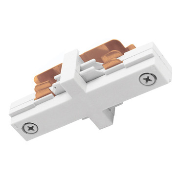 TU23 2-Circuit Trac Master Miniature Straight Connector by Juno Lighting | TU23WH