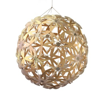 Manuka 800 Pendant by David Trubridge | MAN-0800-NAT-NAT