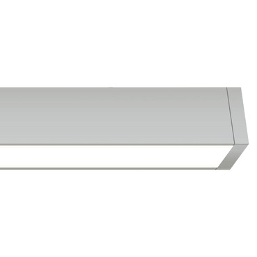 Cirrus Channel Ceiling Flush D1 Direct Lens 2.5W WET by Edge Lighting | CC-D1-2WDC-12IN-27K-SNW