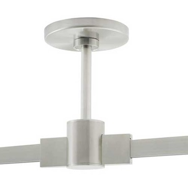 T-Trak 4 Inch Round Power Feed Canopy with Connector  by Tech Lighting | 700TTP4CCC06S