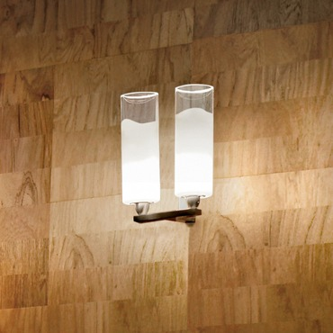 Lio 2-light Wall Lamp by Vistosi | APLIO20L2