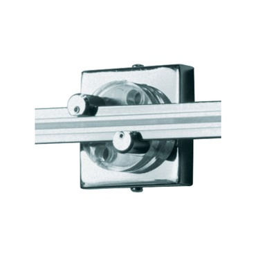 Wall Monorail 2 Inch Square Power Feed Canopy by Tech Lighting | 700WMOP2SQC
