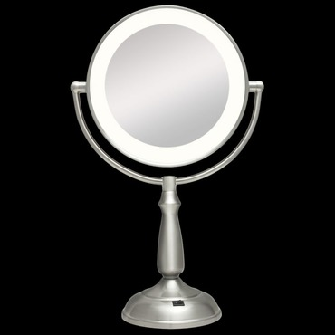 Ultra Bright Dual Sided 1X/12X LED Light Vanity Mirror