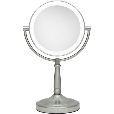 5x/1x Cordless Dual Sided LED Light Vanity Mirror by Zadro | LEDV45