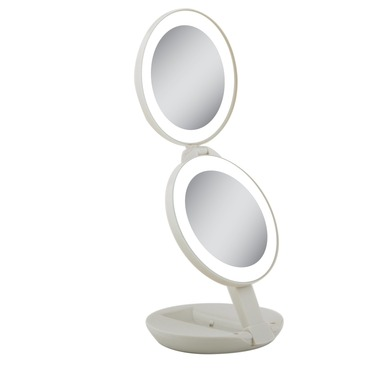 10x/1x LED Next Generation Travel Mirror by Zadro | LEDT01