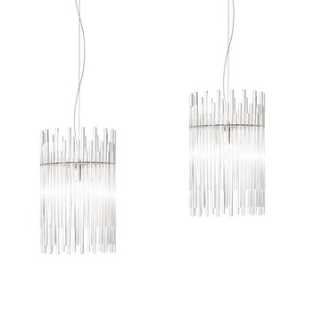 Diadema 19 Inch Multi Light Pendant by Vistosi | SPDIA30NVD2CRCR