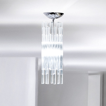 Diadema Semi Flush Ceiling Light by Vistosi | FADIADECRCRG9
