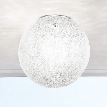 Rina Ceiling Light by Vistosi | PLRINA35BCNINV