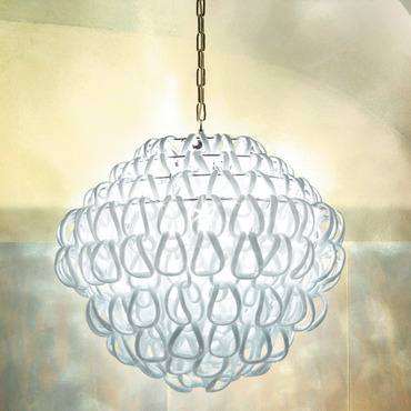 Giogali 24-inch Pendant by Vistosi | SPGIOGA60CR